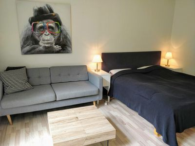 Photo for Apartment With Private Terrace &  Private Park - Couples & Solo Travellers