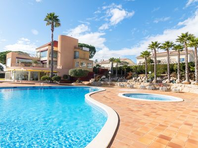 Photo for Sea Mountain Villa with Pool close to Barcelona