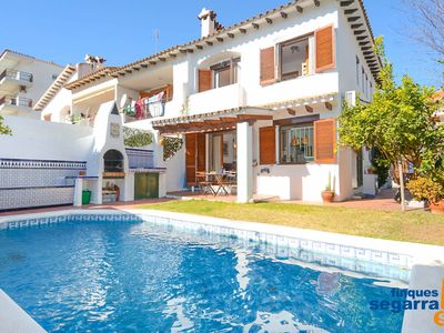 Photo for FINQUES SEGARRA - 2 bedroom house with private pool, barbecue and AA / CC