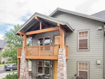 Photo for Luxury unit with sunset & ski jump views, Walk to dining