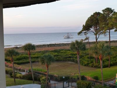 ⛄❄👍CENTRAL AIR👍❄⛄  🌞THE VIEW FROM OUR BALCONY🌞 93 FIVE STAR REVIEWS⭐⭐⭐⭐⭐