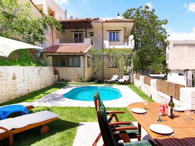 Photo for Spacious Villa in a Quiet Traditional Small Village, Ideal for Big Groups!