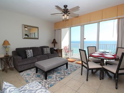 Photo for Windemere 904-Beach Front Terrace w/ Luxurious Interior & Poolside Cabana!