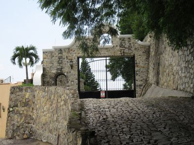 Second gate which enters into Casa Panorama.