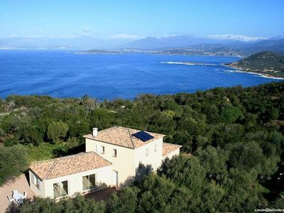 Photo for La Castagna: House with garden, 2 rooms, open view. Corse-du-Sud, Gulf of Ajaccio, Coti-Chiavari, peninsula of Castagna