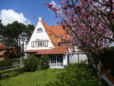 Photo for De Haan Charming villa holiday at the Belgian coast, 500 m from the North Sea