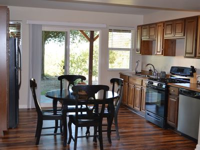 Photo for Secluded 3 acre mountain retreat, 1 mile from town, Sleeps 6