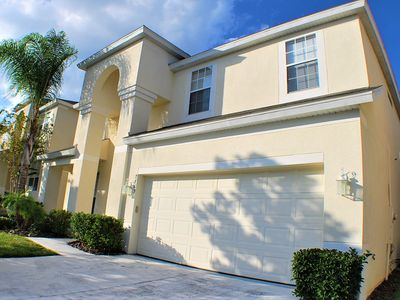 Photo for 7 Bedrooms w/ Wifi,  Private Pool,  New Water Park, just 2 miles from Disney!