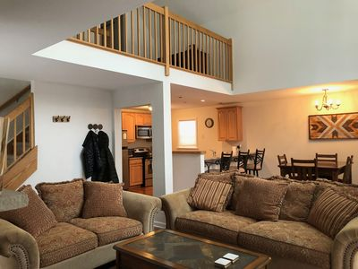 Photo for Modern 4/3 home with  fire  place to enjoy time away, relax and recharge.