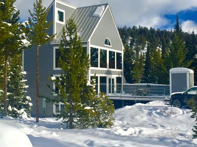 Photo for Ski-in/Ski-out Chalet with Wonderful Views of Lone Peak