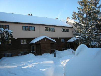 Photo for Ski right to your newly remodled great condo, enjoy woodburning fireplace & SAVE