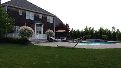 Photo for US OPEN JUNE '18 RENTAL - POOL & HOT TUB/OUTDOOR BBQ/BASKETBALL/TENNIS/HI-TECH