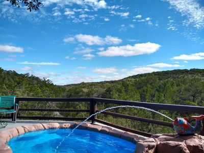 Photo for Secluded gem nestled along Lone Man Creek with fireplace and long views
