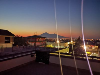 Photo for Maison Monrose two-room apartment with Vesuvius view terrace