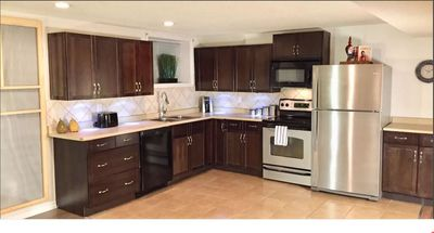 Photo for Clean and Cozy- 2BD/2 Full Baths Private Suite HUGE SqFt • Laundry • Full Kitche