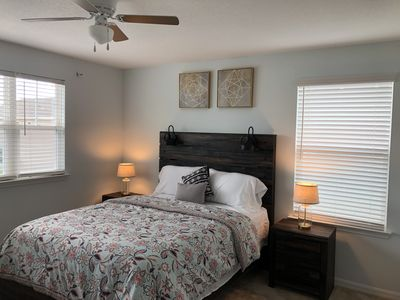 Photo for Beautiful modern master bedroom with private bath minutes from Disney