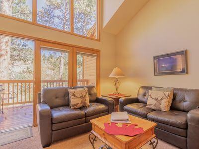Photo for Mountain Condo on Fall River, Riverwood on Fall River