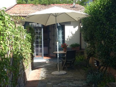Photo for Poggio Imperiale Florence Two rooms with garden sleeps 2 + 2