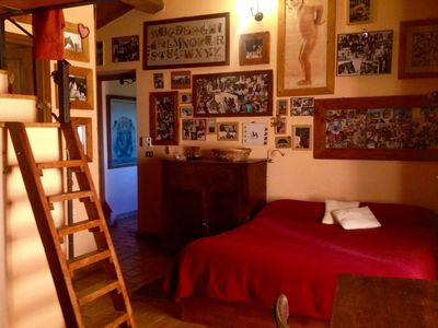 Photo for FAMILY ROOM overlooking the Valle dei Calanchi