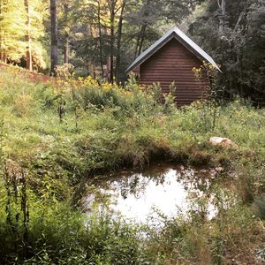 Photo for New Cabin in Sparta, NC on the Little River