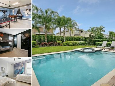 Photo for Amazing Pool Home With Spa & Games Room in Gated Community