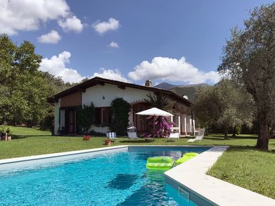 Photo for Villa Panorama, Spectacular view,  private garden and swimming pool