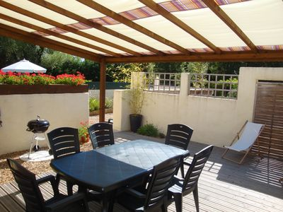 Photo for A lovely gite, with private terraces, heated pool for a wonderful, relaxing stay
