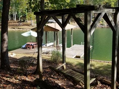 Photo for Waterfront vacation home on Smith Mountain Lake - 3 bedrooms, 2 baths