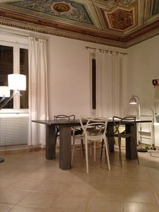 Photo for Especial apartment heart old town, ceiling fresco, pet-friendly, close to beach
