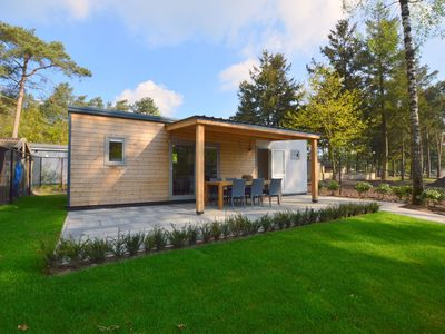 Photo for luxury chalet at a child friendly park with many facilities and pool