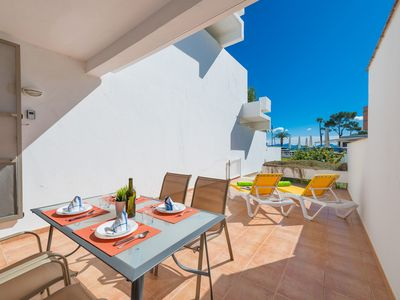 Photo for BAHIA BLANCA - Apartment with sea views in Puerto de Alcúdia.