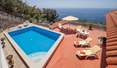 Photo for Villa Luciana with Private Pool, Terrace, Parking and Sea View
