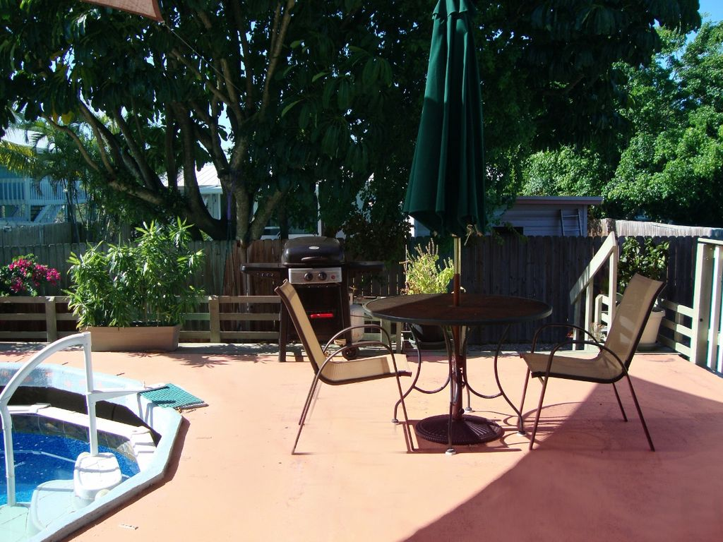 key west style with pool and 2 patios great vrbo
