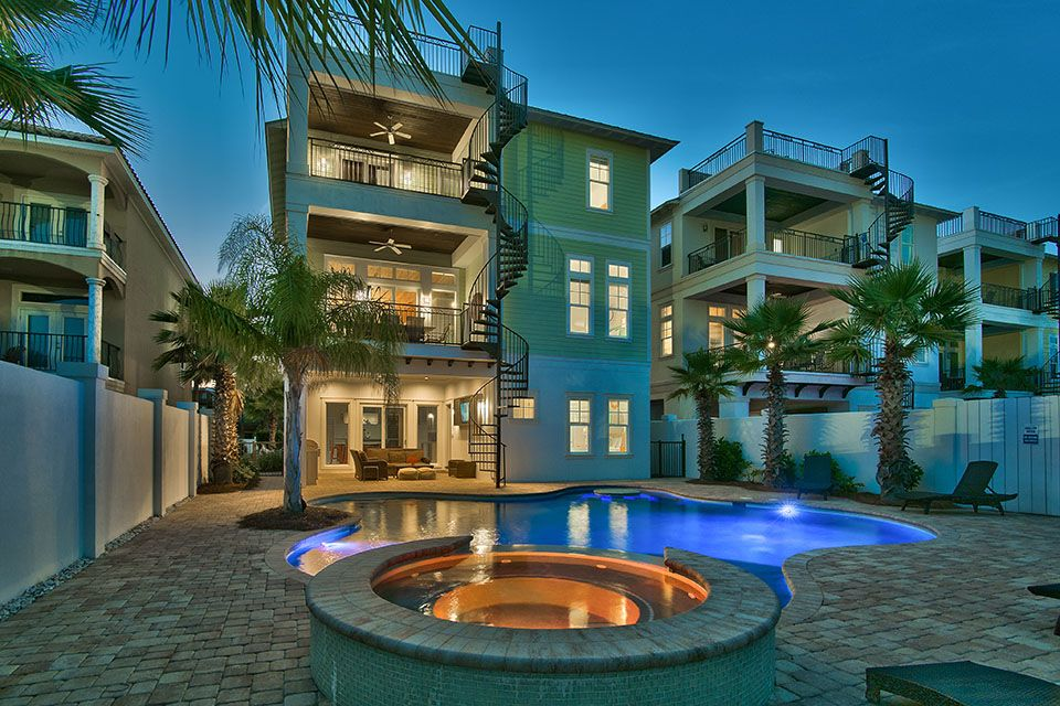 Stunning 3 story home with rooftop deck private pool and for 3 story house with rooftop deck