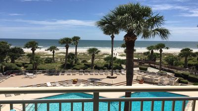 442 Captains Walk Direct Oceanfront - This is an Exceptional Property and You Will Not Be Disappointed - FREE 4 Beach Chairs and Umbrella for use during stay!