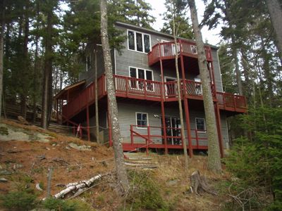 Photo for Beautiful and quiet Cottage with 230' Frontage on Gun Point Cove