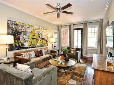 Photo for Myers Park Furnished Apartment in Charlotte-2br/1ba with screened porch