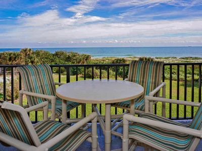 Photo for Bright DIRECT Oceanfront Corner Condo. On the Beach! Amazing Views!