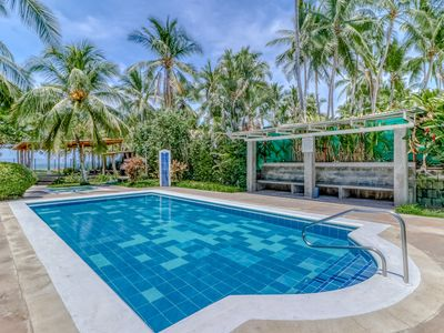 Photo for Villa surrounded by gardens, w/ private beach access!