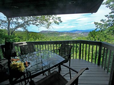 Photo for Luxury Chateau w/Phenomenal Views. Massage Chairs. NEW Hot-tub. PoolAccess