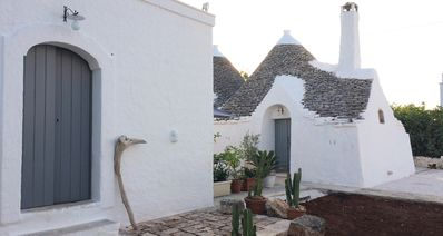 Photo for Independent trullo in a trullo village
