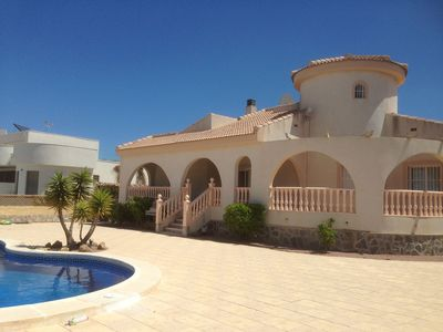 Photo for Beautiful Villa, Private Pool & Garden,Golf and great beaches nearby, WiFi Acces