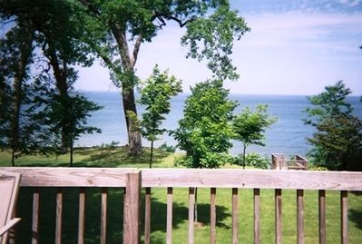Back Deck View of Lake