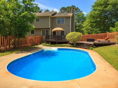 Photo for Beautiful, Private 2-Story Home with Finished Basement & Pool in Tyrone