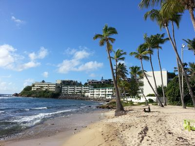 Photo for Bolongo Bay 2BR 2 Bath. Oceanfront And Ground Floor. New Renovation In 2015