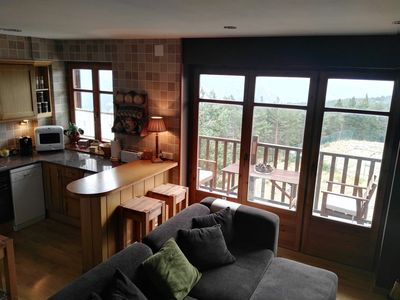 Photo for Luxurious duplex in Port del Comte in front of ski slopes
