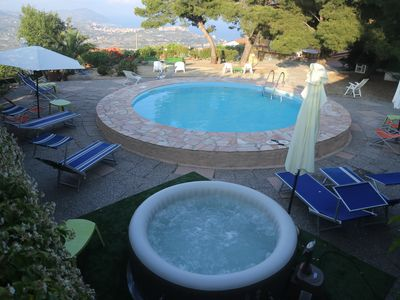 Photo for CASA GINESTRA suitalble 6 people. with shared pool & Jacuzzi hot tub