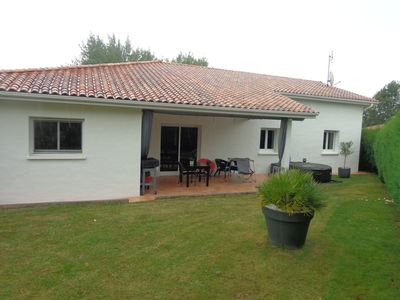 Photo for Pretty bungalow 5 km from Bayonne and 25 minutes from the beaches