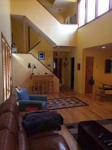 Photo for A spacious ski-in-ski-out, 3 bdr house in the center of Park City resort.