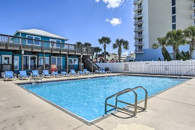 Soak up the sun from this Panama City Beach vacation rental townhome!